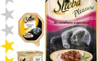 Корм для кошек «Шеба»: состав, виды, отзывы