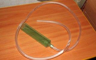 Самодельный сифон – удобное решение для домашнего аквариума