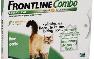 Frontline Combo (Фронтлайн Комбо) Cat – спасение от блох и клещей для кошек
