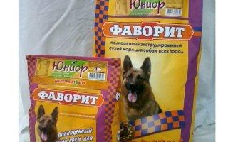 Фаворит – корм для четвероногих питомцев Российского производства