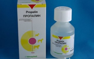 Лекарственное средство Пропалин для собак