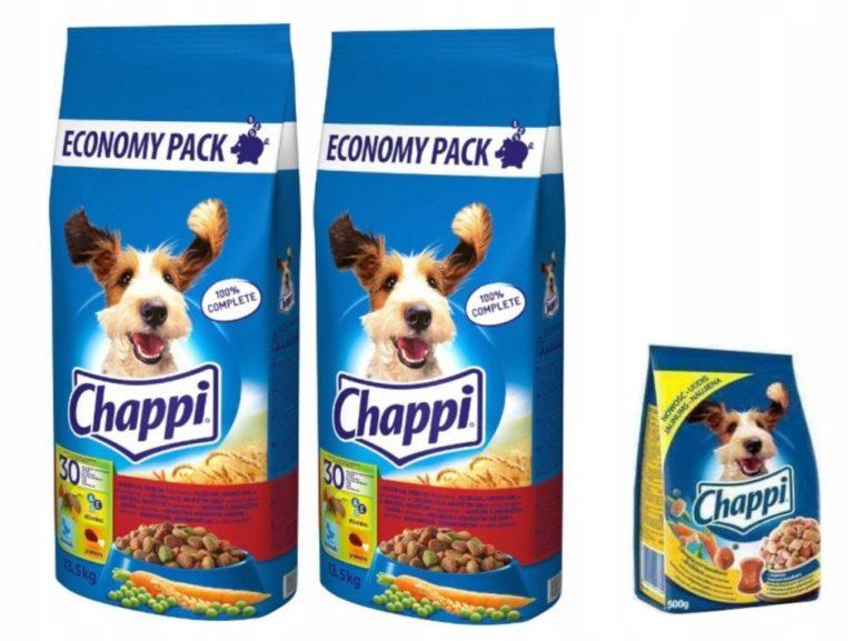 Расфасовка корма Чаппи для собак