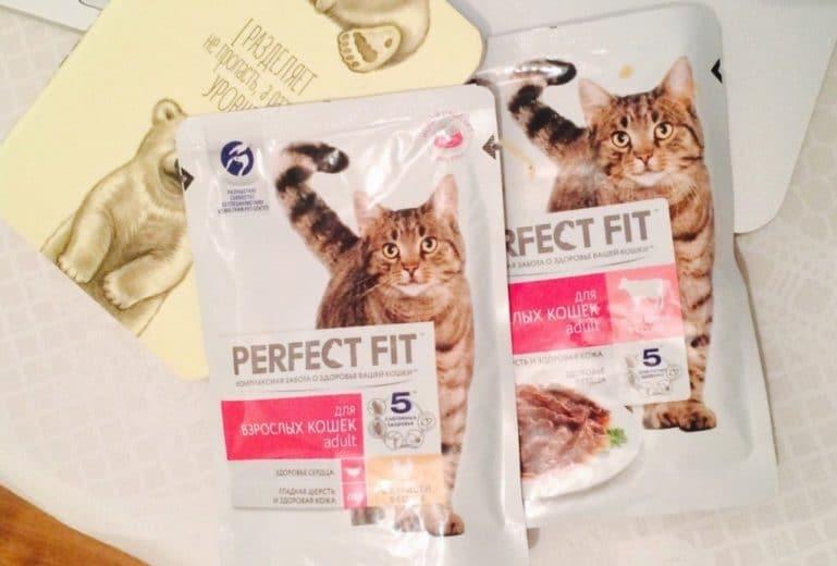 корм perfect fit для взрослых кошек