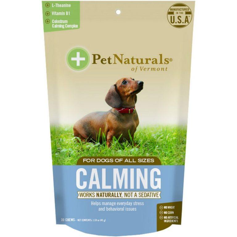 натуральное успокоительное для собак